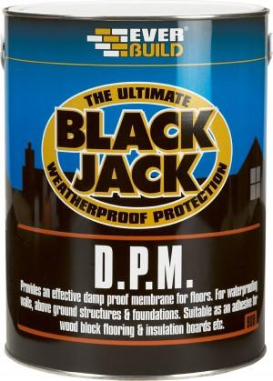 SikaEverbuild Black Jack 908 Everproof DPM Black