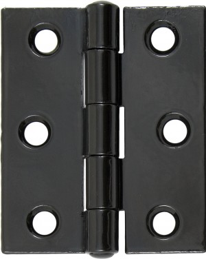 "ANVIL - Black 3"" Butt Hinge (pair)  Anvil91040"