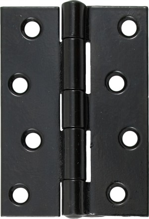 "ANVIL - Black 4"" Butt Hinge (pair)  Anvil91042"