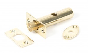 ANVIL - Polished Brass Security Door Bolt