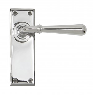ANVIL - Polished Chrome Newbury Lever Latch Set  Anvil91422