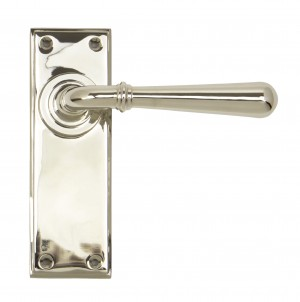 ANVIL - Polished Nickel Newbury Lever Latch Set  Anvil91429