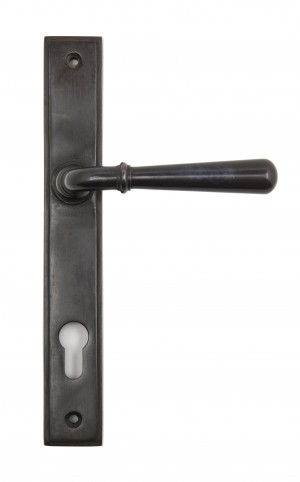 ANVIL - Aged Bronze Newbury Slimline Lever Espag. Lock Set  Anvil91434