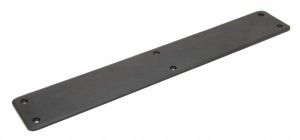 ANVIL - Beeswax 400mm Plain Fingerplate  Anvil91795