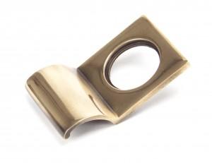 ANVIL - Polished Bronze Rim Cylinder Pull