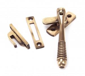 ANVIL - Polished Bronze Reeded Fastener - Locking  Anvil91944