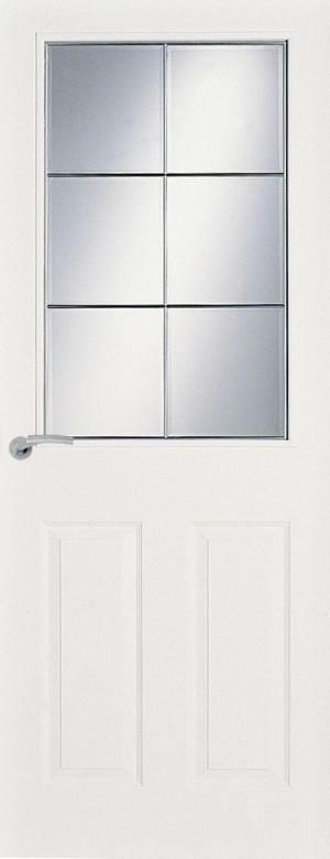 Premdor Manitoba 6 Light Canadian Glazed Textured Internal Door