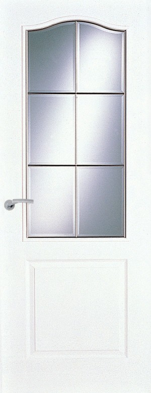 Premdor Manitoba 6 Light Saskatchewan Glazed Smooth Internal Door