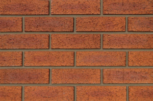 IBSTOCK BRICKS - Hearted 65mm Red Rustic [IBSA3516A]