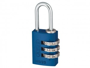 145 Series Aluminium Combination Padlock  ABU14520BLU