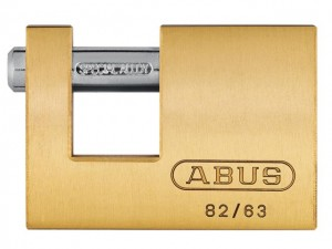 82 Series Monoblock Brass Shutter Padlock  ABU8263C