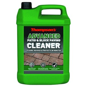 Thompsons Advanced Patio & Block Paving Cleaner 5L