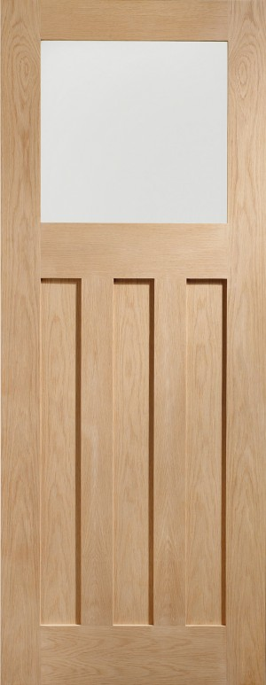 XL JOINERY DOORS -  GODX30  Internal Oak DX with Obscure Glass  GODX30