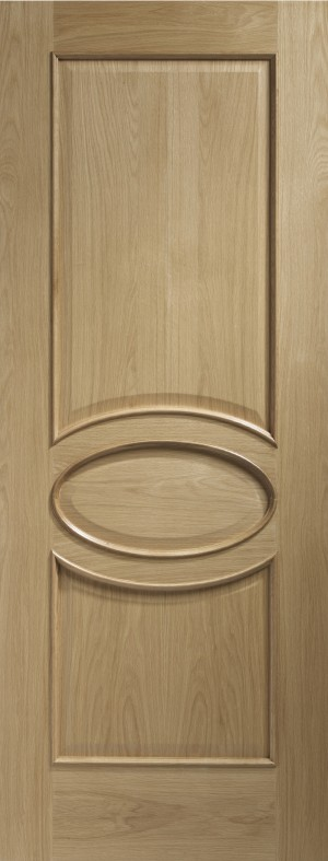 XL JOINERY DOORS -  INTOCAL30RM  Calabria Internal Oak Door with Raised Mouldings  INTOCAL30RM