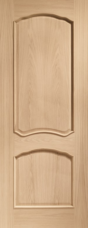 XL JOINERY DOORS -  INTOLOU726RM  Internal Oak Louis with Raised Mouldings  INTOLOU726RM
