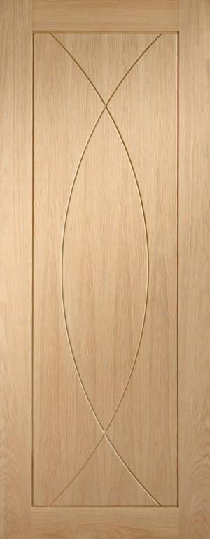 XL JOINERY DOORS -  PFINTOPES33  Internal Oak Pre-finished Pesaro  PFINTOPES33