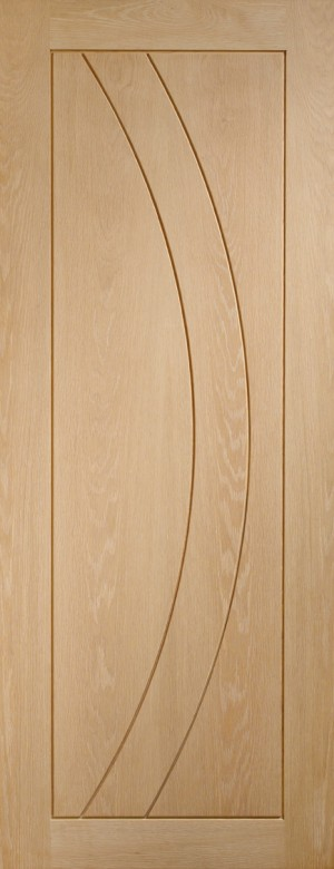 XL JOINERY DOORS -  INTOSAL30-FD  Internal Oak Salerno Fire Door  INTOSAL30-FD