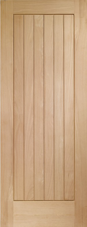 XL JOINERY DOORS -  INTOSUF32-FD  Internal Oak Suffolk Fire Door  INTOSUF32-FD