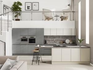 Symphony Milano Contemporary Kitchen - Alta Gloss