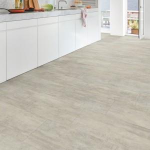 QUICK STEP VINYL FLOORING (LVT) Light Grey Travertin  AMCL40047