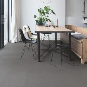 QUICK STEP VINYL FLOORING (LVT) Vibrant Medium Grey  AMCL40138