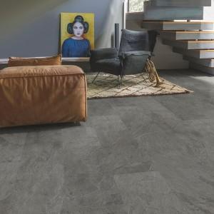 QUICK STEP VINYL FLOORING (LVT) Grey Slate  AMCP40034