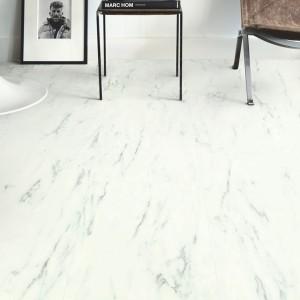QUICK STEP VINYL FLOORING (LVT) Marble Carrara White  AMCP40136