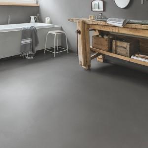 QUICK STEP VINYL FLOORING (LVT) Minimal Medium Grey  AMCP40140