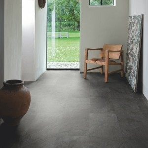QUICK STEP VINYL FLOORING (LVT) Black Slate  AMGP40035