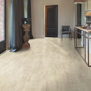 QUICK STEP VINYL FLOORING (LVT) Cream Travertin  AMGP40046