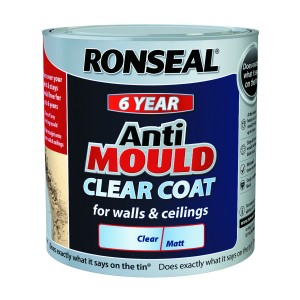 Ronseal Anti-Mould Clear Coat 2.5L [RONS36964]