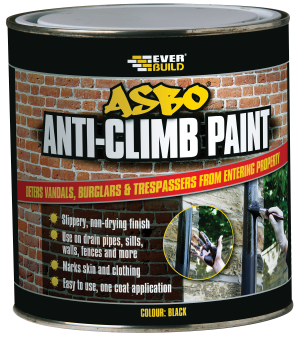 SikaEverbuild ASBO Anti-Climb Paint Black