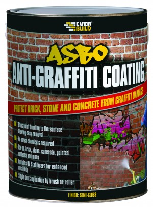 SikaEverbuild ASBO Anti-Graffiti Coating Clear 5L [EVANTIGRAFCT5]