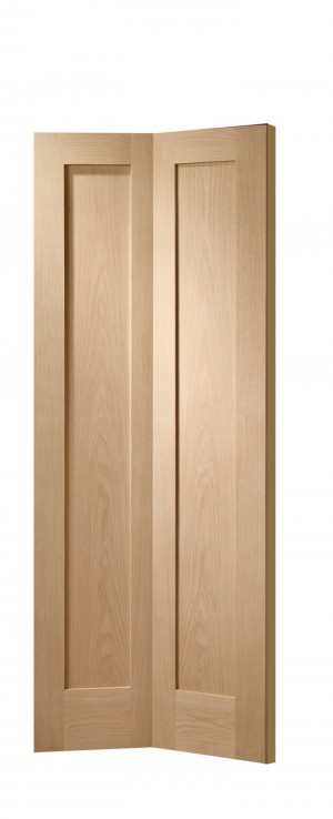XL JOINERY DOORS -  OBFP1030  Internal Oak Pattern 10 Bi-Fold  OBFP1030