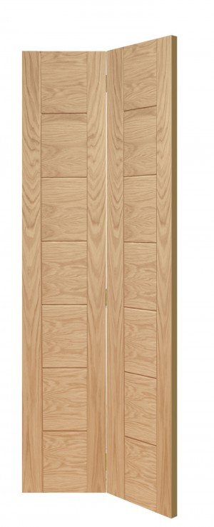 XL JOINERY DOORS -  OBFPAL27  Internal Oak Palermo Bi-Fold  OBFPAL27