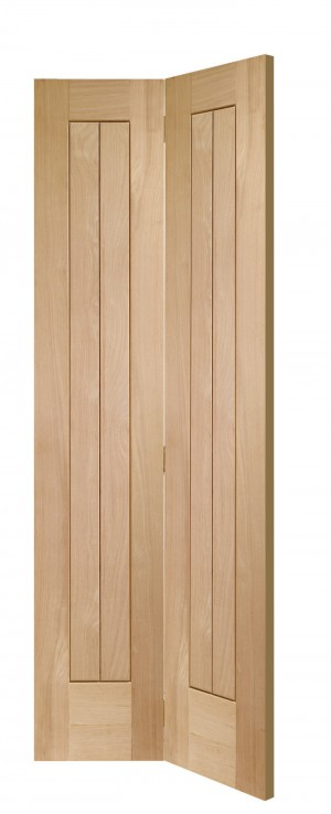 XL JOINERY DOORS -  OBFSUF27  Internal Oak Suffolk Bi-Fold  OBFSUF27