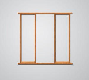 XL JOINERY DOORS -  OSLFR78  External Oak Side Light Frame Kit 78inch High  OSLFR78