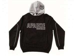 Black / Grey Hooded Sweatshirt  APAHOODBGM