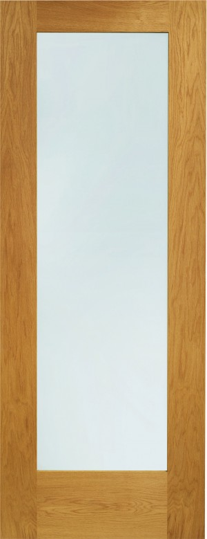 XL JOINERY DOORS -  PFDGOP1030  Pre-Finished Ext Oak Double Glazed Pattern 10 (Clear)  PFDGOP1030