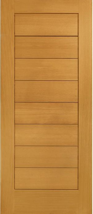 XL JOINERY DOORS -  PFOMOD33  Pre-Finished External Oak Modena  PFOMOD33