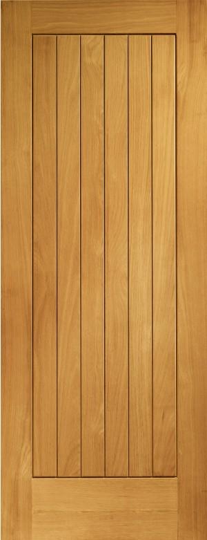 XL JOINERY DOORS -  PFOSUF30  Pre-Finished External Oak Suffolk  PFOSUF30