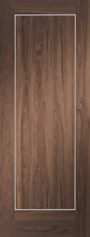 XL JOINERY DOORS -  PFWALVAR30-FD  Varese Pre-Finished Internal Walnut Fire Door  PFWALVAR30-FD