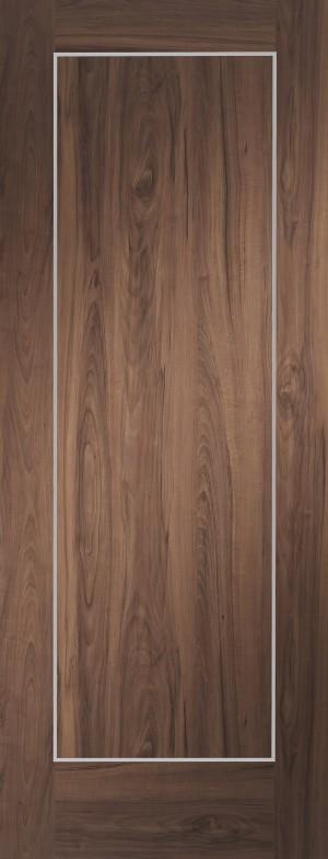 XL JOINERY DOORS -  PFWALVAR27  Varese Pre-Finished Internal Walnut Door  PFWALVAR27