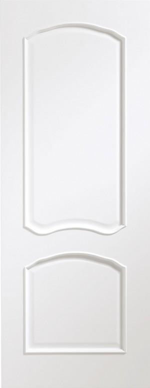 XL JOINERY DOORS -  PFWFLOU33 Pre-Finished Internal White Louis  PFWFLOU33