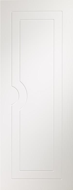 XL JOINERY DOORS -  PFWFPOT33  Potenza Pre-Finished Internal White Door  PFWFPOT33