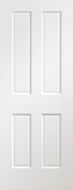 XL JOINERY DOORS -  PFWFVIC33 Pre-Finished Internal White Victorian  PFWFVIC33