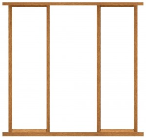 XL JOINERY DOORS -  SLFR80  External Hardwood Side Light Frame Kit 80inch High  SLFR80