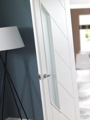 XL JOINERY DOORS -  WHITEPM  White Primed Pair Maker  WHITEPM