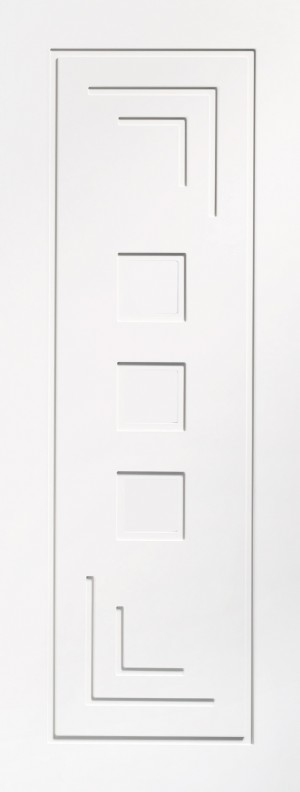 XL JOINERY DOORS -  WPALT27  Internal White Primed Altino  WPALT27
