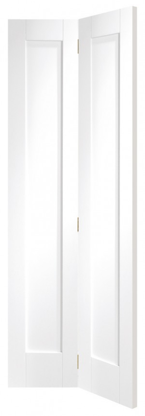 XL JOINERY DOORS -  WPBFP1030  Internal White Primed Pattern 10 Bi-Fold  WPBFP1030